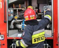 KRONIKA STRAŻACKA: Potrącenie pieszego, pożar ciężarówki i dachowanie