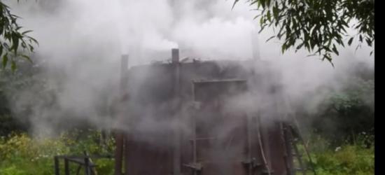 ŁOPIENKA: Z bieszczadzkiego krajobrazu znikają kolejne retorty (VIDEO)