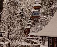 Sanocki Skansen w zimowej szacie (ZDJĘCIA)