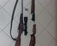 POWIAT SANOCKI: Posiadał nielegalną broń i amunicję. Grozi mu do 8 lat pozbawienia wolności