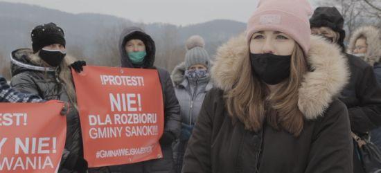 Kolejne protesty przeciwko przyłączeniu wsi do Sanoka (VIDEO, ZDJĘCIA)