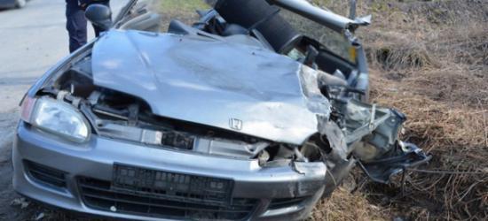 13 letnia motorowerzystka ranna w wypadku