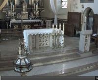 Grupa pielgrzymów z Francji gości w parafii na Posadzie. Msza Św. w języku francuskim (TRANSMISJA NA ŻYWO)