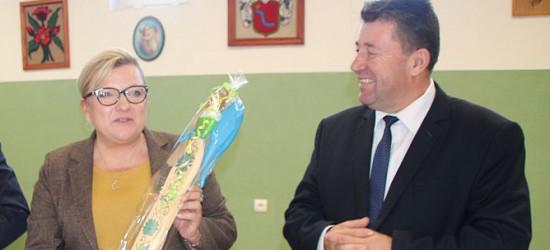 Spotkanie Beaty Kempy z podopiecznymi WTZ w Huzelach. Pełne poparcie dla Józefa Orłowskiego (VIDEO, FOTO)