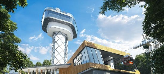 GMINA SOLINA: Tak będzie wyglądać kolejka gondolowa i wieża widokowa nad Soliną! (ZDJĘCIA)