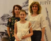 Młoda flecistka z Sanoka z wyróżnieniem w prestiżowym konkursie (ZDJĘCIA)