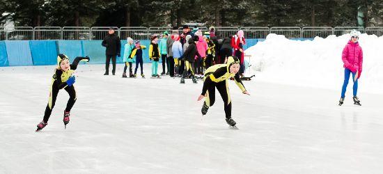 Ogólnopolskie Zawody Dzieci w łyżwiarstwie szybkim. ZOBACZ FOTORELACJĘ