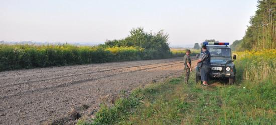 GRANICA: Wybierał się pieszo do Niemiec