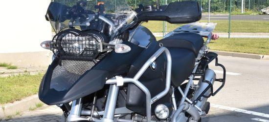GRANICA: Skradzionym we Francji motocyklem chciał wjechać na Ukrainę