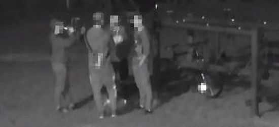 SANOK: Nocne wybryki młodzieży. Przyłapani przez szkolny monitoring (ZDJĘCIA)