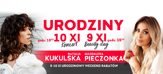 6. Urodziny Galerii Rzeszów i moc atrakcji dla Klientów!