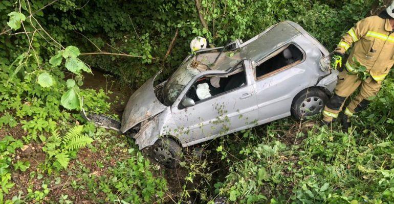 ZAGÓRZ. 19-latek niedawno stracił uprawnienia do jazdy. Za nadmierną prędkość (VIDEO, ZDJĘCIA)