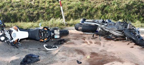 REGION: Wypadki z udziałem motocyklistów (ZDJĘCIA)
