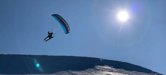 Na nartach pobili rekord świata w dystansie (FOTO)