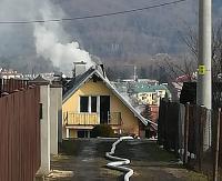 POŻAR W SANOKU: Tragedia w Sanoku. Śmierć w pożarze budynku przy ul. Zagumnej (ZDJĘCIA)