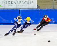 Ogólnopolska Olimpiada Młodzieży: Drugi dzień zmagań w short tracku (ZDJĘCIA)