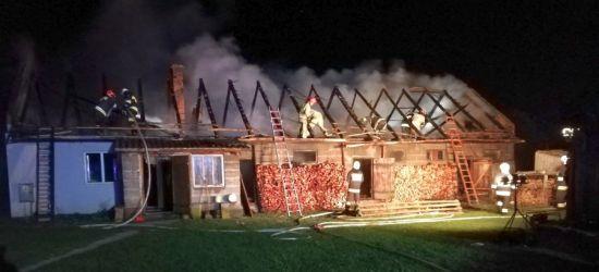 PODKARPACIE. Tragiczny pożar. Nie żyje 58-latek (ZDJĘCIA)
