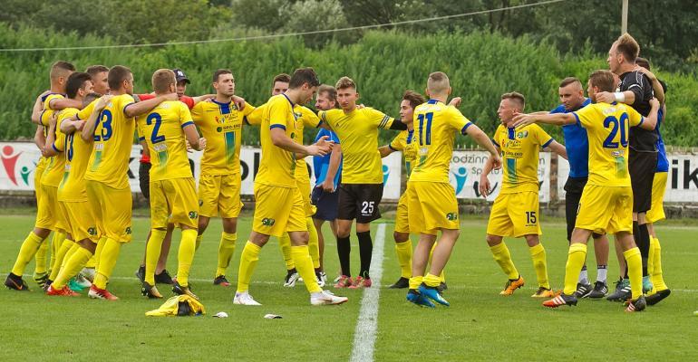 Pewne zwycięstwo sanockich piłkarzy na inaugurację. Wygrywamy 2:0! (SKRÓT VIDEO, ZDJĘCIA)