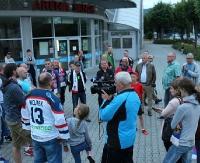 Kibice walczą o seniorski hokej. Pożegnano klub, który istnieje…? (FILM, ZDJĘCIA)