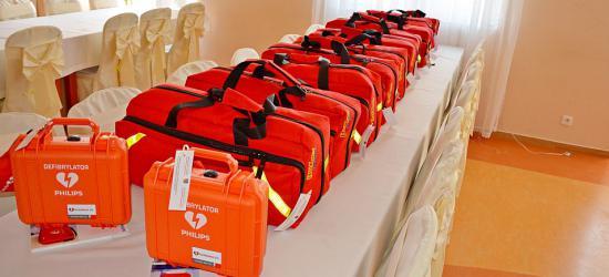 Sprzęt z dotacji Ministra Sprawiedliwości dla strażaków z Gminy Sanok