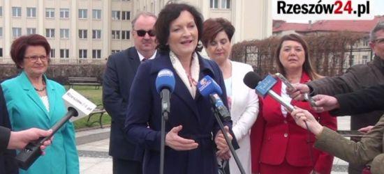 To oni powalczą o mandat europosła! PiS oficjalnie zaprezentował kandydatów na Podkarpaciu (VIDEO, ZDJĘCIA)