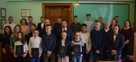 SANOK: Mamy świetnych, młodych sportowców! Wyłoniono piętnastu stypendystów (FOTO)
