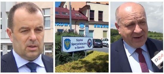 Radni domagają się nadzwyczajnej sesji w sprawie sanockiego szpitala
