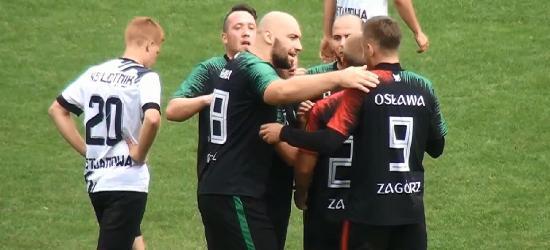 SPORT: Osława Zagórz nie zwalnia. Hat-trick Łukasza Wróbla (VIDEO)