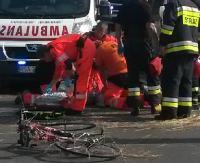 ZAGÓRZ: Zasłabnięcie rowerzysty. Niestety, nie udało się go uratować (ZDJĘCIA)