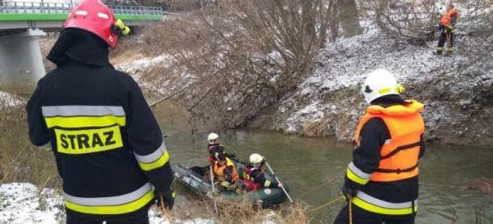 PODKARPACIE: Tragiczny finał poszukiwań. Ciało mężczyzny wyłowiono z rzeki