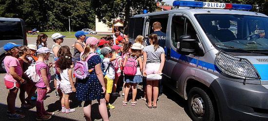 Wakacje z policją (ZDJĘCIA)