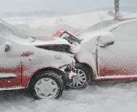Wypadek w Nagórzanach. Zderzenie czołowe dwóch samochodów (ZDJĘCIA)