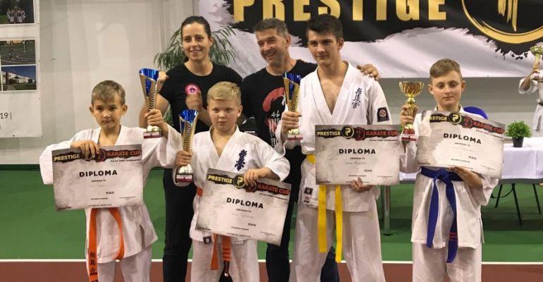 GMINA SANOK: Kolejne sukcesy karateków z Niebieszczan (ZDJĘCIA)