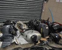 Silniki i samochody zatrzymane przez funkcjonariuszy Bieszczadzkiego Oddziału Straży Granicznej (ZDJĘCIA)