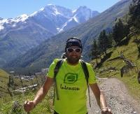 Sanoczanin w biegu na Elbrus