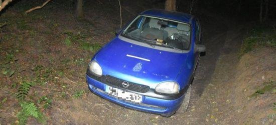 REGION: Dwóch kompletnie pijanych kierowców jednego opla (FOTO)