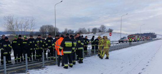 SANOK: Akcja na obwodnicy miasta! Zdemontowano bariery linowe (FOTO)