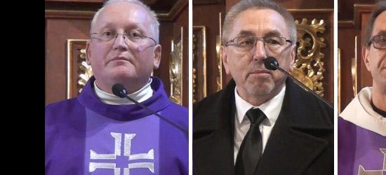 Pożegnali o. Andrzeja Deptucha. Posłuchaj co mówili współbracia, księża, parafianie (FILM)