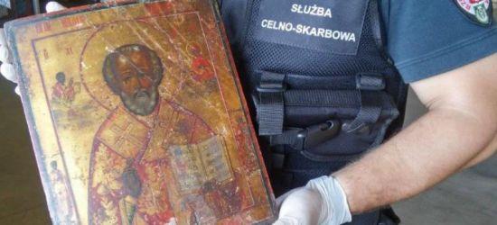 Udaremniono przemyt zabytkowej ikony św. Mikołaja (ZDJĘCIA)