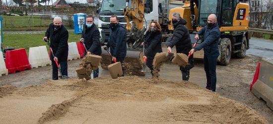 Remont ważnej drogi w Bieszczady. Wbito pierwszą łopatę (ZDJĘCIA)