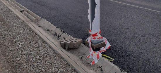 SANOK: Fuszerka budowlana? Lampa w pasie jezdni! (ZDJĘCIA)