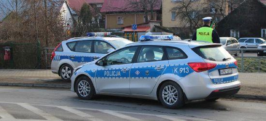 Policyjny pościg za daewoo. Mężczyzna spieszył się do znajomych
