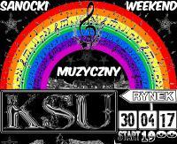 SANOK: KSU zagra na sanockim Rynku! Muzyczna uczta na początek weekendu majowego (FILM)