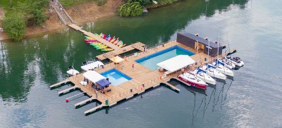 GMINA SOLINA: Pływające baseny, szkółka żeglarska, wypożyczalnia jachtów otwarte! (VIDEO, ZDJĘCIA)