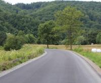 DOBRA: Chcą ograniczyć ruch samochodów ciężarowych. Na drodze pojawi się szykana