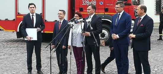 Zbigniew Ziobro na Podkarpaciu. Pomoc dla powodzian (VIDEO)