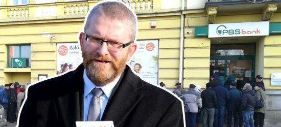 Grzegorz Braun ostro o sytuacji PBS Sanok (VIDEO)