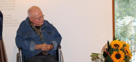 """Najwybitniejszy poeta na najwyższym poziomie poetyckim. Janusz Szuber z ,,Orfeuszem"""" (ZDJĘCIA)"""