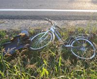 Akt oskarżenia przeciwko byłemu policjantowi. Pijany wiózł dziecko na rowerze i spowodował wypadek