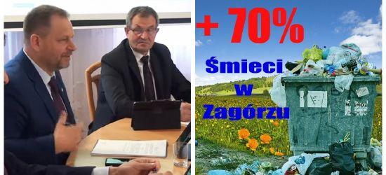 GMINA ZAGÓRZ: Opłaty za śmieci wzrastają o 70% (VIDEO)